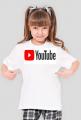 Koszulka dla dziewczynki YouTube