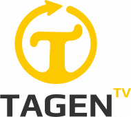 TAGEN.TV - biała koszulka