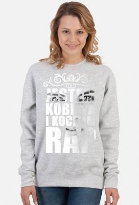 """Bluza rapowa """"Jestem kobietą i kocham rap"""" 4"""