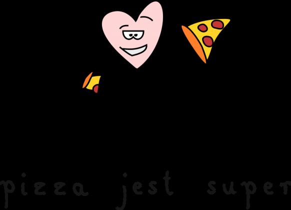 pizza jest super