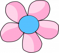 Maseczka Kolorowa Wiosenny Kwiat