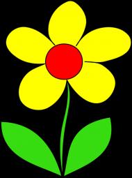 Maseczka Kolorowa biała żólty kwiat