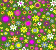 Maseczka Ochronna Kwiaty