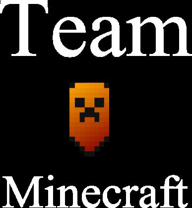 Koszulka Team Minecraft z Długim Rękawem