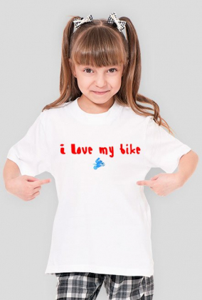 I love my bike for kids