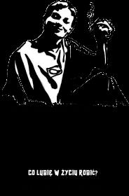 LASKA WAŻNE PYTANIE - bluza męska z kapture, kolor szary