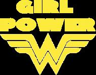 Bluza damska z kapturem - GIRL POWER - Prezent na Dzień Kobiet