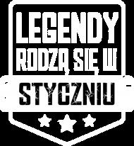 Koszulka Męska - Legendy Styczeń