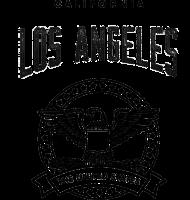 Bluza z kapturem - Los Angeles
