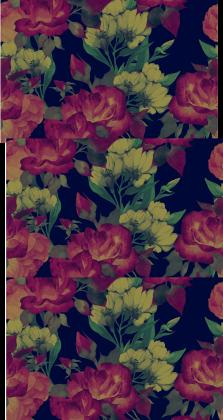 Komin kwiaty