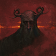 ROGATY BÓG Horned God TORBA