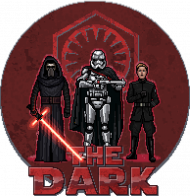 STAR WARS The Dark Pixel Art DAMSKA