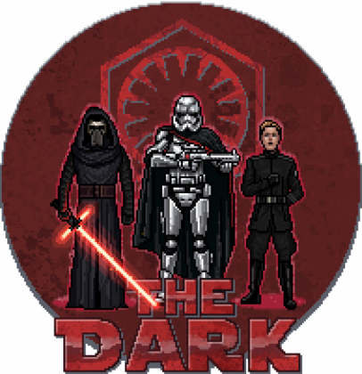 STAR WARS The Dark Pixel Art DAMSKA