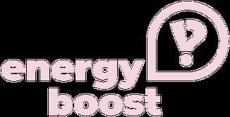 Koszulka Energy Boost kids - logo