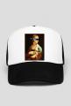 czapka dama-z-łasicą