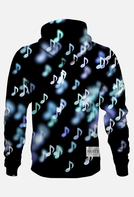 bluza z kapturem unisex 122