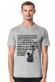 Koszulka Męska Rocky Balboa Quote About Life
