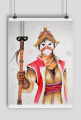 Nobushi - For Honor A2 Print
