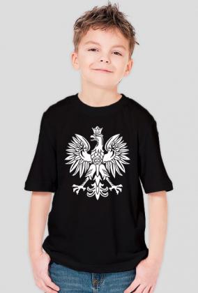 T-shirt Chłopięcy Orzeł Biały