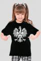 T-shirt Dziewczęcy Orzeł Biały