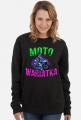 bluza Moto Wariatka - bluza motocyklowa dla kobiety, Dzikuska motocykle