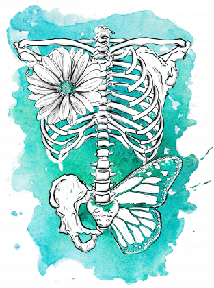Plakat | Skeleton