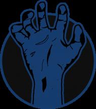 Rising hand - kubek