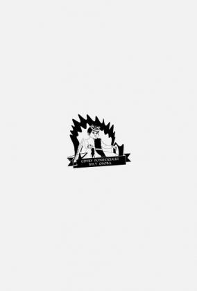 Poniedziałek - Joffrey - Gra o Tron - czarny - obrys - serial
