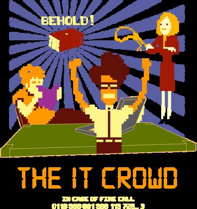 The IT Crowd - Moss - Roy - Jen - humor - geek - weird - film - TV - serial