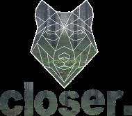 Koszulka męska Geometric Wolf