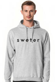 sweter original for men #2 gray/black