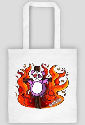 Panda na krzyżu (torba)
