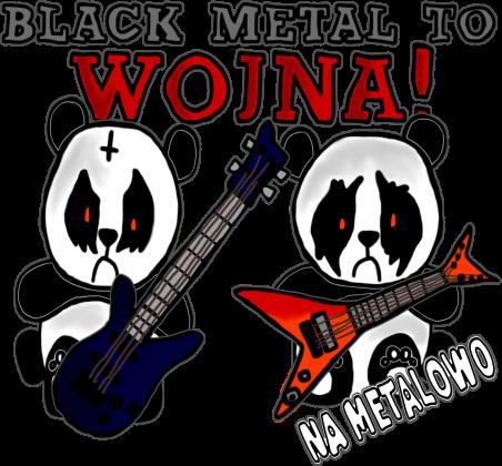 Black metal to WOJNA! (bez rękawów)