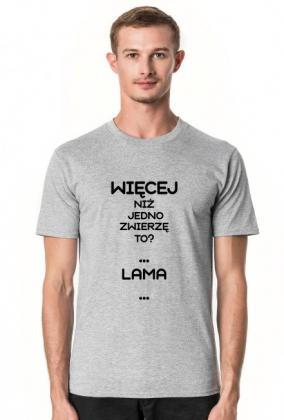 """KOSZULKA z napisem """"LAMA"""""""