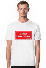 koszulka Urbex Grozi Zawaleniem