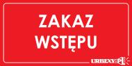 koszulka Zakaz Wstępu Urbex sleeves