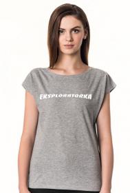 koszulka Eksploratorka Urbex gray