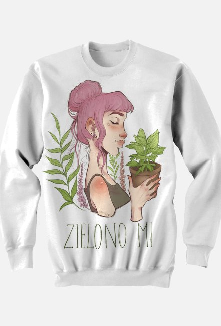 ZIELONO MI (bluza 3D)