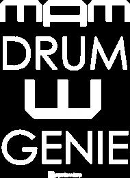 Mam Drum W Genie_biała grafika