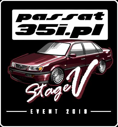 Stage V Event - Koszulka zlotowa męska