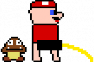 Kubek Mario Pissing/Mario Szcza!