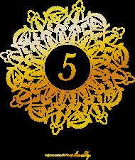 Plakat A2 - Wibracja 5 - Numerologia
