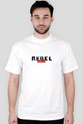 T-Shirt Rebel SLAVE White