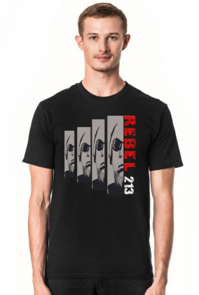 T-Shirt Rebel 213 Faces