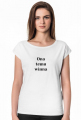 Koszulka damska - Ona temu winna