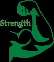 Koszulka męska strength