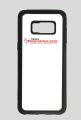 Samsung Galaxy S8 case black z nadrukiem NewsDiscoPolo
