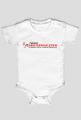Body niemowlęce z nadrukiem NewsDiscoPolo