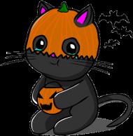 Złoty Kubek Halloween Kitku