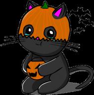 Maseczka Halloween Kitku